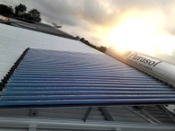High-Efficiency Solar Water Heater