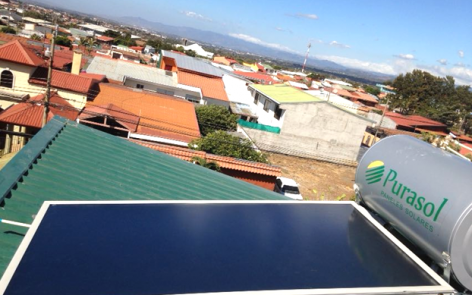 Robust Solar Water Heater